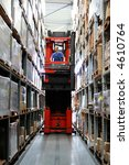busy warehouse with pallet... | Shutterstock . vector #4610764