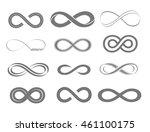 infinity symbol | Shutterstock .eps vector #461100175