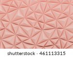 abstract dusty rose low poly... | Shutterstock . vector #461113315
