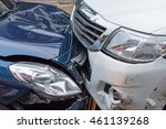 car crash from car accident on... | Shutterstock . vector #461139268