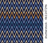 seamless wavy stripes pattern... | Shutterstock .eps vector #461147296