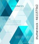leaflet  brochure  flyer...   Shutterstock .eps vector #461157562