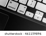keyboard close up with xray... | Shutterstock . vector #461159896