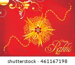 abstract artistic detailed red... | Shutterstock .eps vector #461167198