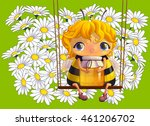 bee with a jar of honey. cute...
