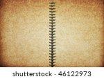 blank old textured notebook   Shutterstock . vector #46122973