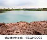 pure aqua basin with red...   Shutterstock . vector #461240002