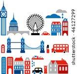 Vector Illustration Of London...