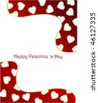 valentines background with...   Shutterstock .eps vector #46127335