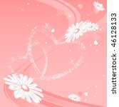 abstract vector card for... | Shutterstock .eps vector #46128133