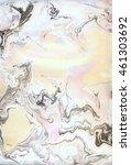 light marble suminagashi grey...   Shutterstock . vector #461303692
