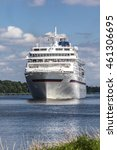 cruise ship  north sea baltic... | Shutterstock . vector #461306695
