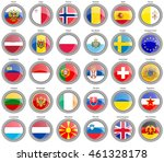set of icons. flags of the...   Shutterstock .eps vector #461328178