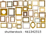 assortment of golden and... | Shutterstock . vector #461342515