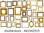 assortment of golden and... | Shutterstock . vector #461342515