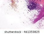 eyeshadow cosmetic powder... | Shutterstock . vector #461353825