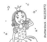 vector illustration of girl in...   Shutterstock .eps vector #461353972
