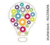 creative process   Shutterstock .eps vector #461358646
