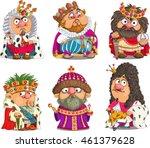 the comic caricature. cartoon.... | Shutterstock .eps vector #461379628