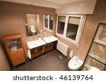 luxury home washroom | Shutterstock . vector #46139764