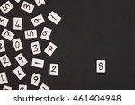 number eight | Shutterstock . vector #461404948