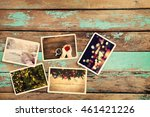 merry christmas  xmas  photo...   Shutterstock . vector #461421226