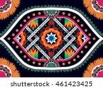 geometric ethnic oriental... | Shutterstock .eps vector #461423425