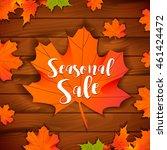 Seasonal Autumn Sale Design...