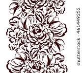 abstract elegance seamless... | Shutterstock . vector #461449252
