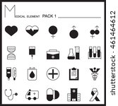 medical line icons.mono outline ...