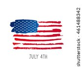 american flag. 4th of july. the ... | Shutterstock . vector #461488342