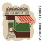 vintage store front | Shutterstock .eps vector #46148893