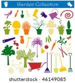 garden collection | Shutterstock . vector #46149085