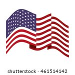 flag united states of america... | Shutterstock .eps vector #461514142