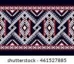 geometric ethnic oriental... | Shutterstock .eps vector #461527885