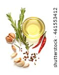 a food and healthy lifestyle... | Shutterstock . vector #461553412