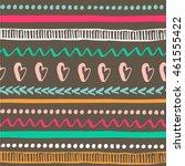 seamless tribal pattern....   Shutterstock .eps vector #461555422