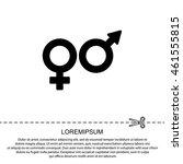 web line icon. gender symbol ...   Shutterstock .eps vector #461555815