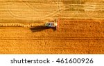 Harvester Machine Working In...