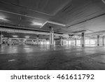 parking garage interior ... | Shutterstock . vector #461611792