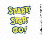 go phrase in pokemon go cartoon ... | Shutterstock .eps vector #461631712