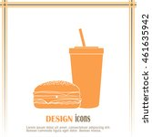 fast food icon | Shutterstock .eps vector #461635942