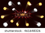 big win banner with falling... | Shutterstock .eps vector #461648326