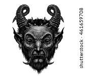 Devil Head  Satire Satan ...