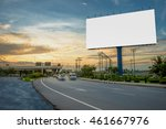billboard blank for outdoor... | Shutterstock . vector #461667976