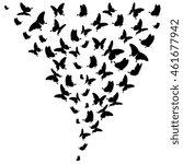 butterflies design | Shutterstock .eps vector #461677942