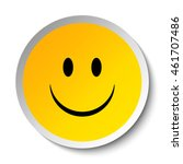 smiley. vector happy face | Shutterstock .eps vector #461707486