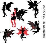 fairies   Shutterstock .eps vector #46172092