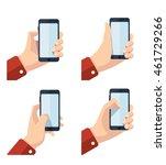 vector pictures set of hands...