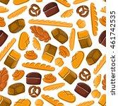 bakery seamless vector...   Shutterstock .eps vector #461742535